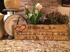 Home by ChooseHappyLiveHappy on Etsy
