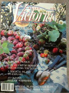 Victoria Magazine old issues on Bonanza! ♥