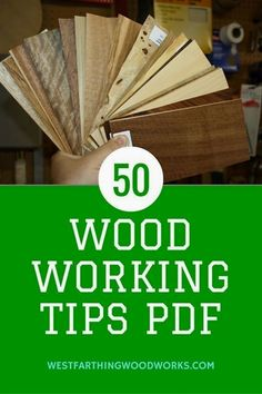 Woodworking tips and tricks are a great way to absorb a lot of information quickly. For beginning woodworkers, this article and free PDF are a huge start. Come see. #woodworkingforbeginners #WoodworkingTips