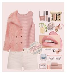 """Simple Beautyfull ♡"" by dns328 on Polyvore featuring Banana Republic, Yves Saint Laurent, Rochas, Butter London, Herbivore, Unicorn Lashes, rms beauty, Lancôme, Society and Turkish-T"