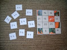 Játékos tanulás és kreativitás: Műveletek gyakorlása puzzle segítségével Educational Activities, Math Activities, Third Grade Math, Multiplication, Puzzle, Games, Kids, Homeschooling, Multiplication Tables