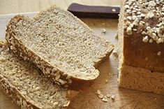 Buckwheat Bread, Bread Art, Time To Eat, Greek Recipes, Banana Bread, Biscuits, Food And Drink, Veggies, Gluten Free
