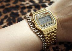 Casio Gold Vintage Watch.
