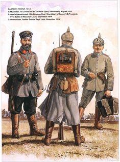 - германская армия в ПМВ, часть вторая, она же надцатая .