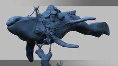 https://www.behance.net/Heliot whale rider zbrush character design  #whale #zbrush #whalerider #whale rider