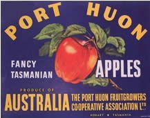 Tasmania Australia Pinnacle Apple Fruit Crate Label Vintage Art Print