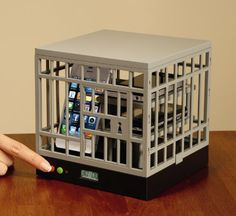 Cell Phone Lock-Up Cage (Apple Tech Gadgets)