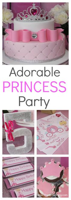 This is a stunning Princess birthday party that is easy to replicate and one that the kids are all going to love. For those on a budget, simply follow the ideas for Princess themed decorations, food and games. You will soon have the best Princess party in the kingdom.