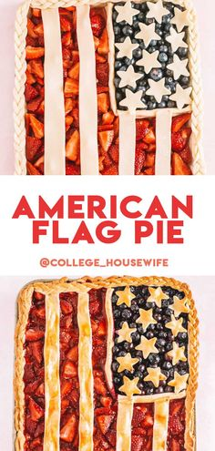 Need an epic 4th of July dessert idea or a classy American flag dessert… the American flag pie is for you! This easy slab pie recipe is made directly onto a cookie sheet and filled with tart blueberries and sweet strawberries. Homemade Pie, Homemade Desserts, Homemade Ice Cream, Blueberries, Strawberries, Pie Recipes, Dessert Recipes, Star Cookie Cutter, Slab Pie