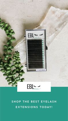 EBL Lashes are soft, black, flexible, lightweight and loved by lash Artists around the world. Shop EBL today and see for yourself!