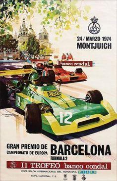 F2. Gran Premio de Barcelona, Montjuich, Campeonato de Europa, Fórmula 2, 1974