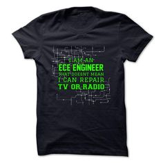 ECE ENGINEER - #gift for him #cool gift. BUY-TODAY => https://www.sunfrog.com/No-Category/ECE-ENGINEER.html?68278