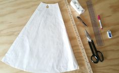 how to: add flare to a skirt