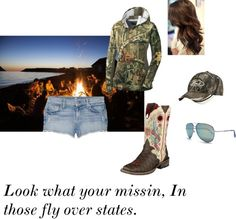 Fly over states, created by cowgirl14 on Polyvore
