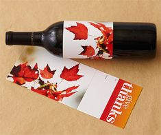Free wine labels ~ just download, print, cut and wrap!
