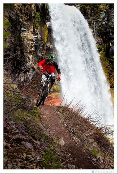 mountain biking with great scenery #mtb