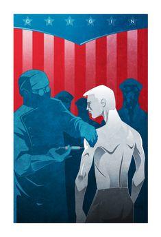"Origin Series: ""Rebirth"" [Captain America] by The Ninjabot"