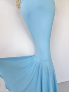Frozen Queen Elsa Blue Mermaid skirt ICE by ZanzaDesignsClothing, $46.00