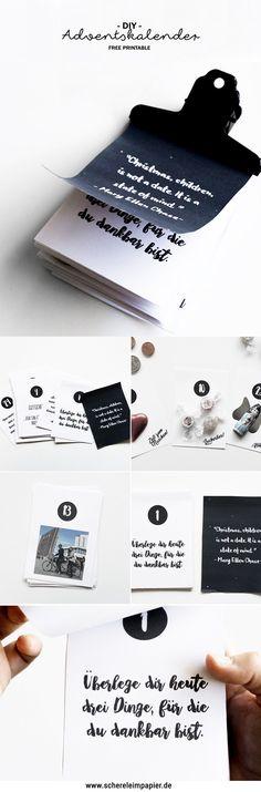 Adventskalender basteln: Freebie zum Ausdrucken- schereleimpapier DIY und Upcycling Blog aus Berlin - kreative Tutorials für Geschenke, Möbel und Deko zum Basteln