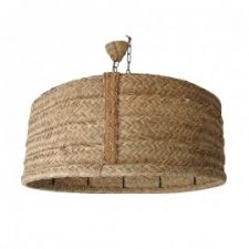 Lámpara de techo en esparto natural Medidas especiales por encargo