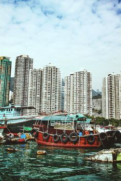 Aberdeen fishing village, Hong Kong