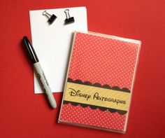 """downloaded the FREE Waltograph font for the """"Disney Autographs"""" font."""
