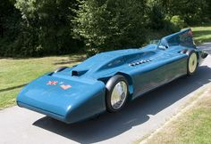 It joins the Bluebird CN7, driven by Sir Malcolm Campbell's son, Donald, to a…
