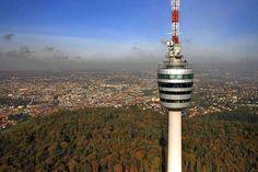 Stuttgart Fernsehturm, Degaloch, Stuttgart, Germany