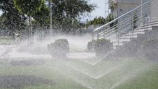 This Sprinkler Saves Water By Analyzing the Weather Forecast