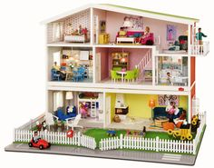 Open Home: Lundby Småland Doll's House - A Renovation To Die For