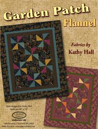 Garden Patch Flannel ~ Free Quilt Pattern