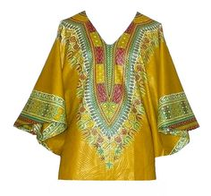 """""""Haiti Cherie"""" African top by Jahnhoy Rootical Wear"""