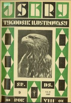 Iskry No. 9, 15.02.1930, Y. VIII, Photograph on the cover: Głowa młodego orła