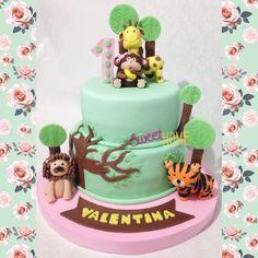 Jungle cake Animals cake