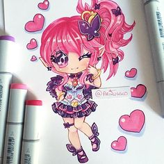 Famart chibi of the overlord Seraphina from Disgaea 5! Disgaea is one of my favourite game series, and I've been playing D5 too much recently so I had to draw fanart! #paigeeworld #fanart #chibi #disgaea #disgaea5 #seraphina #copicmarkers #copic #copicart #chibiart #traditionalart #kawaii #anime