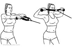 Back Espalda Face Pull workout Bi Workout, Workout Guide, Men's Fitness, Fitness Goals, Face Pull Exercise, Face Pulls, Rear Delt, Arm Workouts, Body Exercises
