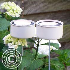 Upcycling DIY, Gartenlichter DIY, Teelichthalter DIY, Upcycling Thunfischdosen, Gartendeko selbstgemacht, DIY Gartendeko,