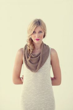 BREN Collection || Spring 2012 cowl + knitted dress...simple elegance
