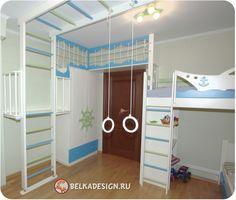Детская комната для двоих детей – Сан-Ремо