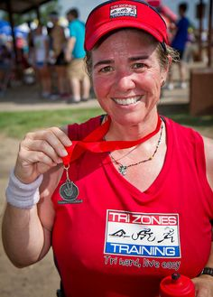 """Couples Tri 2012 - first sub-2hr race!  Team """"Living our Dream"""" w/ Jenny Peterman!"""