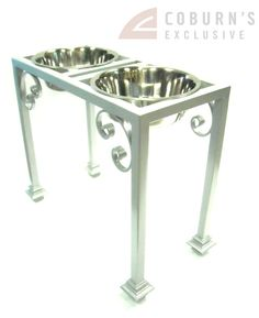 Elevated Dog Feeder Bowl holder Traditional by CoburnsExclusive, $160.00