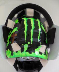 MTL316 Goalie Mask Collector  #monster #bmx #mask #goalie #custom #hockey www.MTL316.com