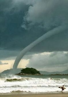 Waterspout. Australia.