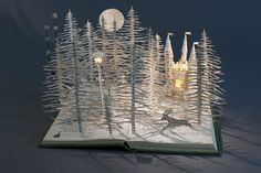 ''Out of Narnia'' by English paper artist Su Blackwell