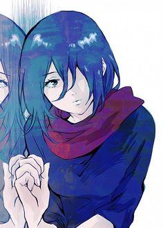 Tags: Anime, Shingeki no Kyojin, Mikasa Ackerman, Pixiv Id 4197633