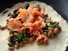 natto kimchi crepe