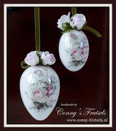 Conny's Frutsels: Paas-eieren decoreren
