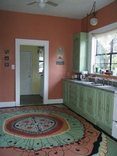 My colorful kitchen..
