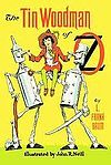 The tin Woodman of Oz. Book 12 of 14. The Tin Woodman, Nick Chopper, is unexpectedly reunited with his Munchkin sweetheart Nimmie Amee from the days when he was flesh and blood. Along the way, Nick discovers a fellow tin man, Captain Fyter, as well as a Frankenstein monster-like creature, Chopfyt, made from their combined parts by the tinsmith, Ku-Klip.