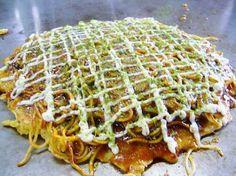 Okonomiyaki! OMG I can't explain how amazing this is :D